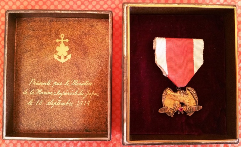 Une des plus rares médailles japonaises : le mérite impérial aéronautique 20171112