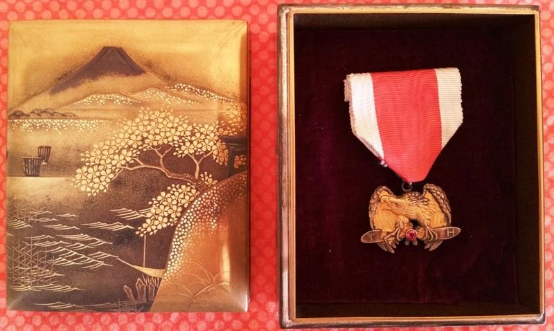 Une des plus rares médailles japonaises : le mérite impérial aéronautique 20171113