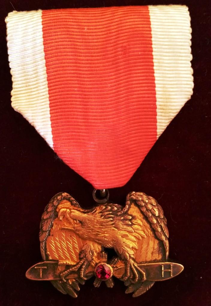 Une des plus rares médailles japonaises : le mérite impérial aéronautique 20171115