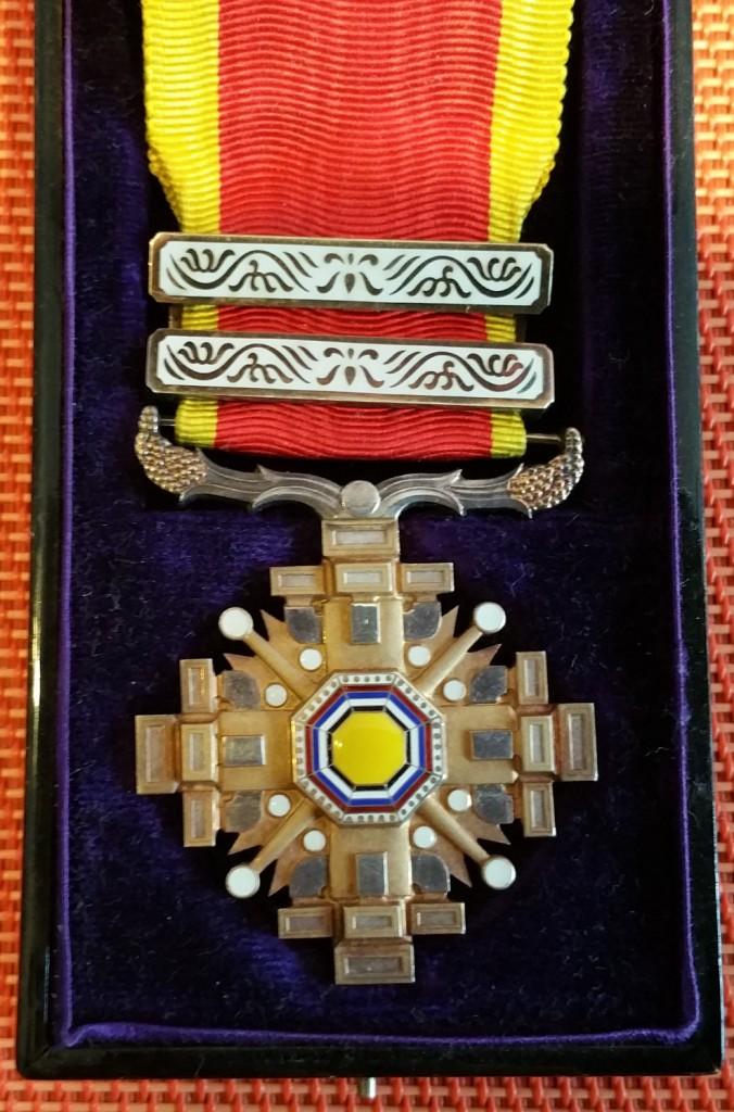 """Empire du Manchukuo, ordre des piliers de l'état   """"満 州 国 柱 國 章"""" 4_pili10"""