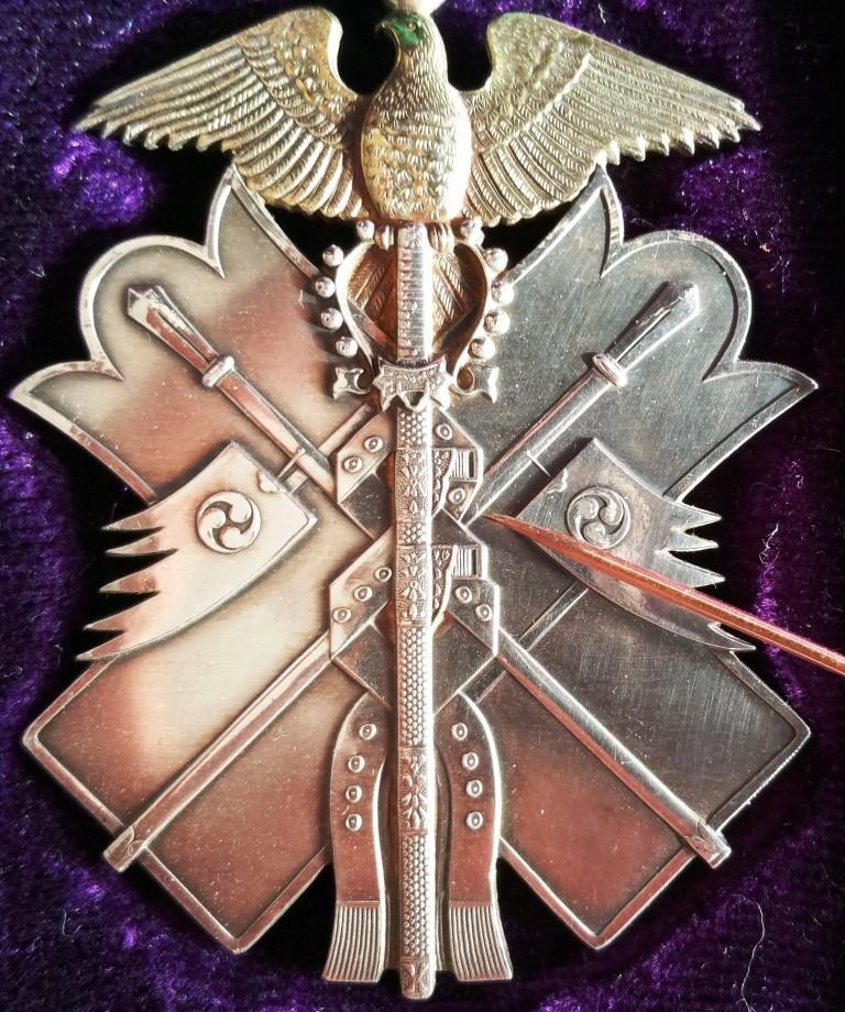 L'ordre du milan d'or et son évolution sous les 3 empereurs : Cercle12