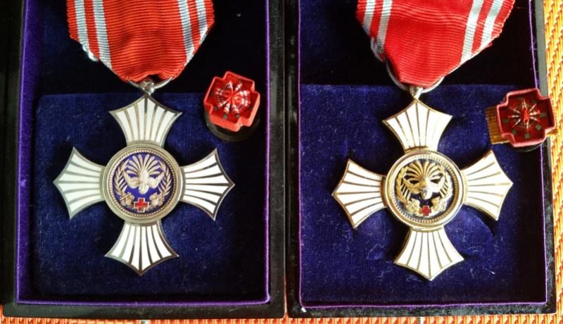 La médaille du mérite de la croix rouge WWII : Croix_10