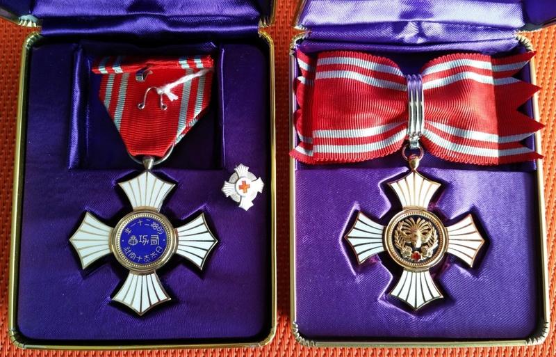 La médaille du mérite de la croix rouge WWII : Croix_13