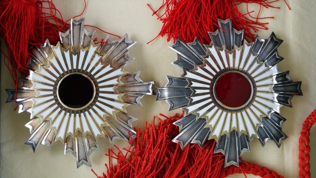 Les 2ème classe du soleil levant et du trésor sacré en écrins Tamatebako Myiaké Tamate19