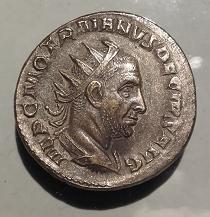 Antoniniano de Trajano Decio. PANNONIAE. Roma Anvers13