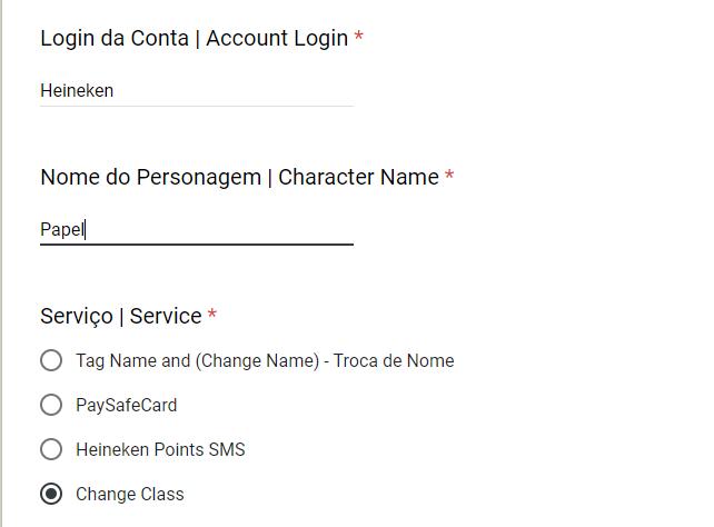 Guia Completo: Troca de Classe (Português) Change11