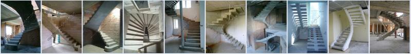 Бетонные лестницы 110
