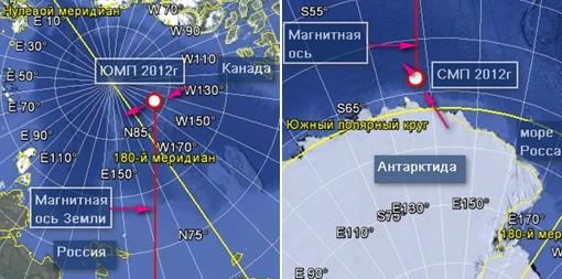 Смена магнитных полюсов Земли Csthv10