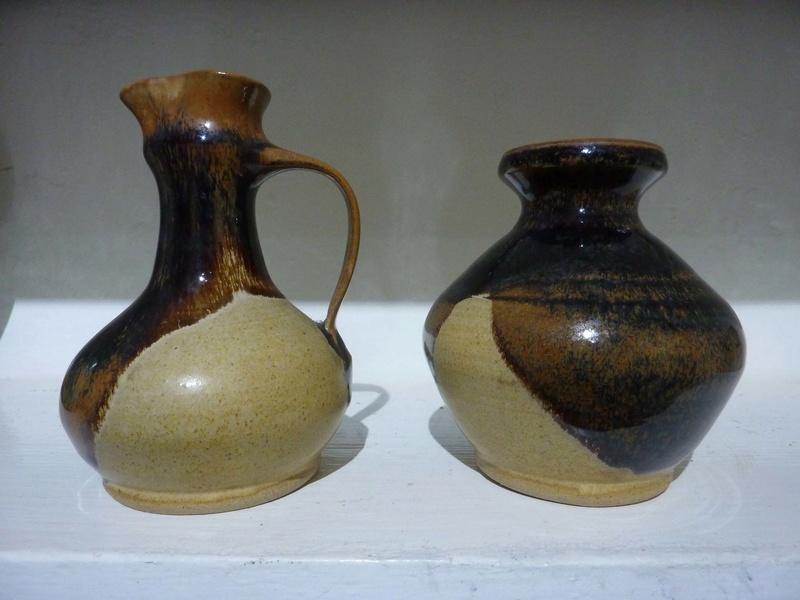 small pots marked CC - Chris Carter 00111