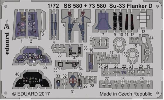 Су-33 Т.А.Апакидзе. 1/72 звезда/eduard 215