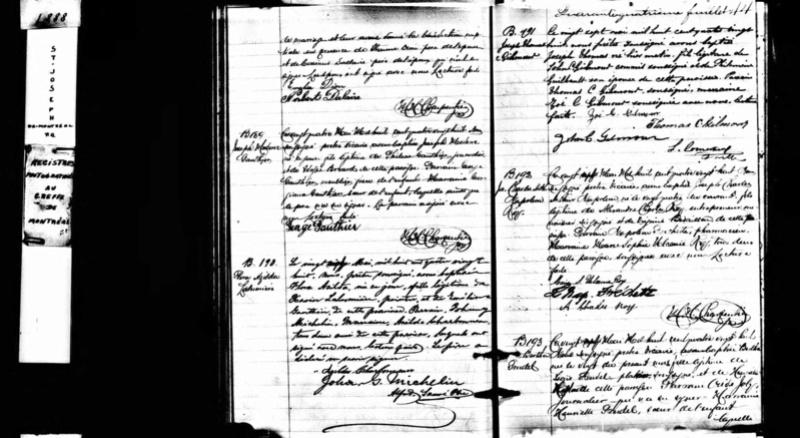 Hubert Desormiers, Paul Desormiers, Alice Ingram - Page 2 Baptme10