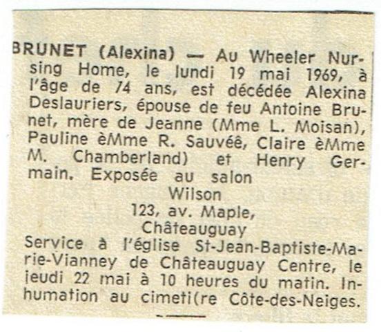 Micro-film Notre-Dame Montréal, année 1919, sépultures Deces_32
