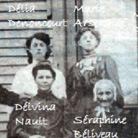 Mariage de Francois Beaudin et Délia Denoncourt Delia10