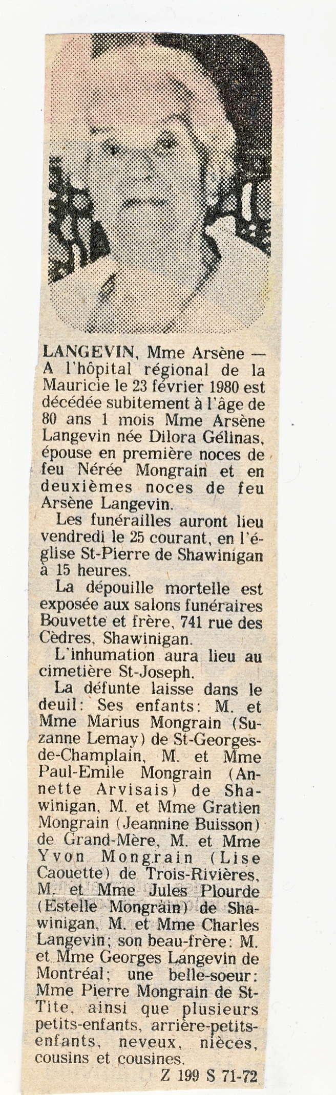 Enfants Joseph Mongrain Melanie Germain  Dilora10