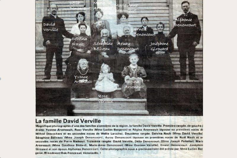 Mariage de Francois Beaudin et Délia Denoncourt Famill12