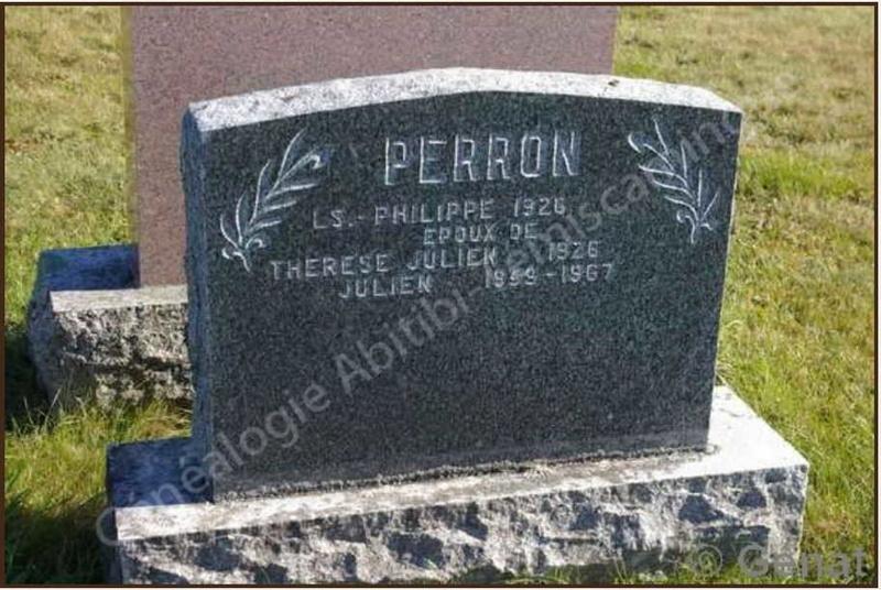 Acte de mariage de Perron Pierre11