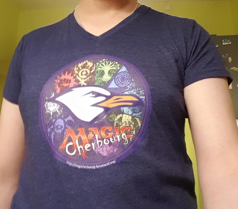 T-Shirt club magic cherbourg 20171111