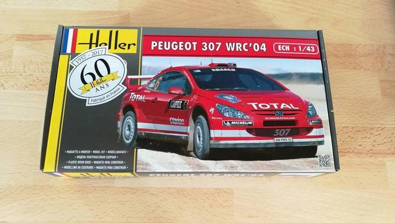 PEUGEOT 307 WRC 2004 1/43ème Réf 80115 00111