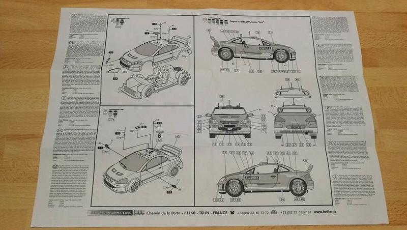 PEUGEOT 307 WRC 2004 1/43ème Réf 80115 01010