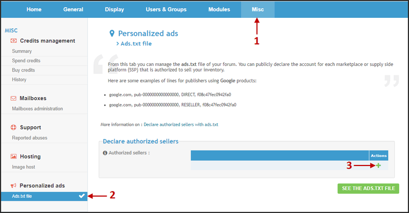 New: Declare authorized sellers on your forums with ads.txt file 21-11-11
