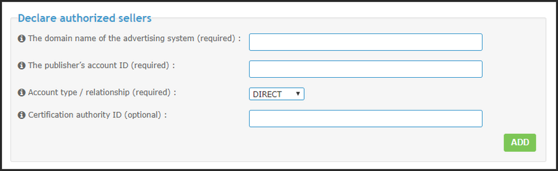 New: Declare authorized sellers on your forums with ads.txt file 21-11-12