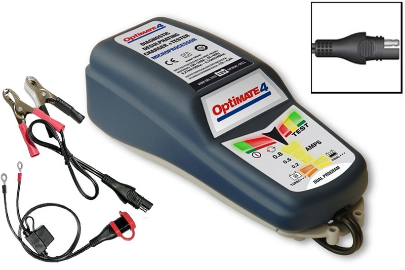 Prise 12v et mainteneur de charge Optima10