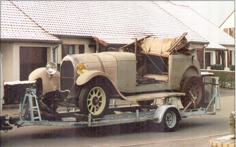Restauration d'une avant guerre - TALBOT M67 1928 de Damien 26_jan10