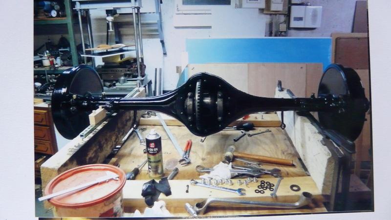 Restauration d'une avant guerre - TALBOT M67 1928 de Damien P1150111