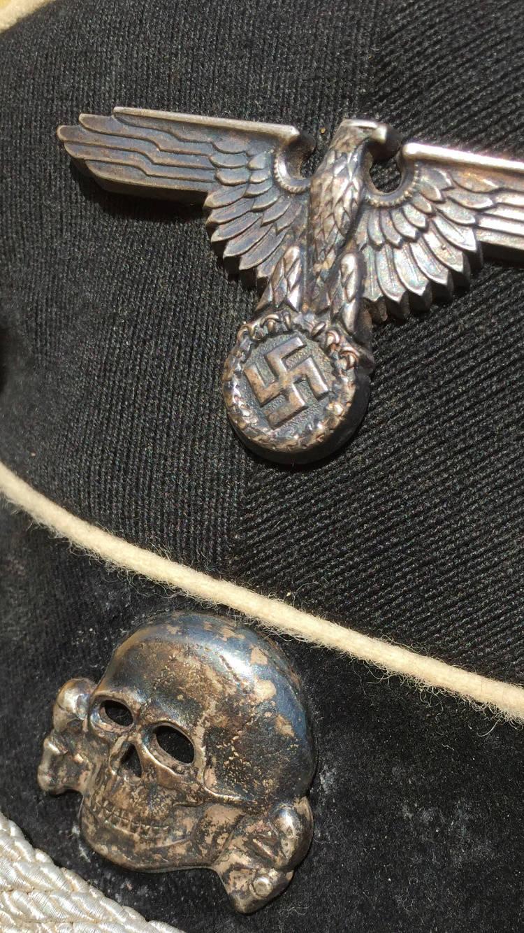 Aigle casquettes waffen ss original ou copie F7df8c10