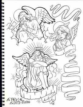 Peintures et dessins Kustom kulture à la main 9908f510