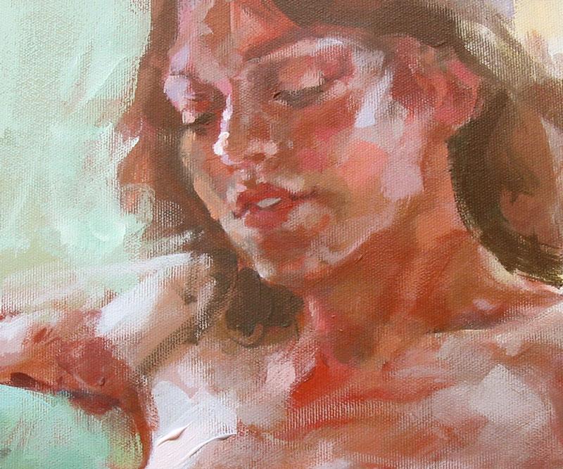 Peintures et dessins Kustom kulture à la main _woman10