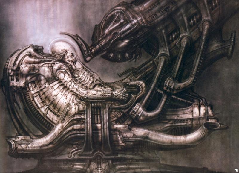 Peintures et dessins Kustom kulture à la main Alien-10