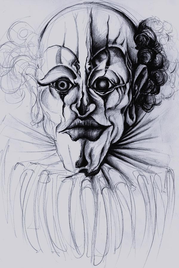 Peintures et dessins Kustom kulture à la main Evil_c10