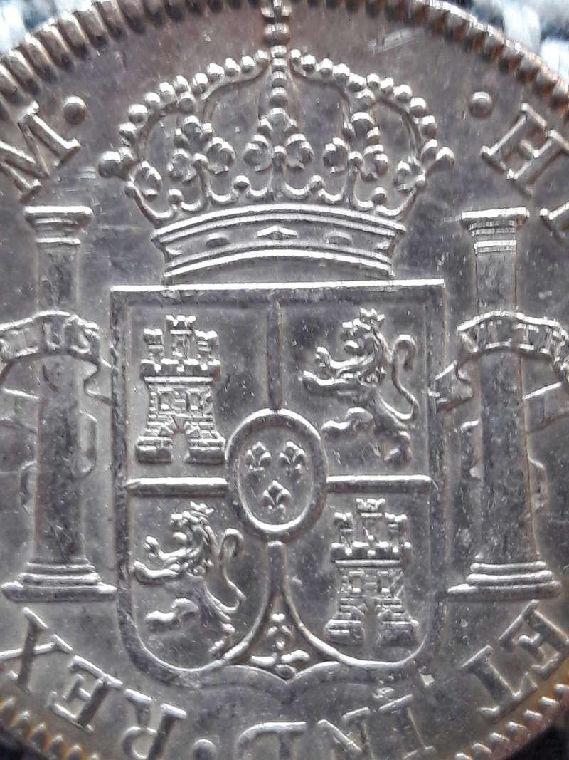 8 Reales 1793. Carlos IV. Mejico F.M. 20171211