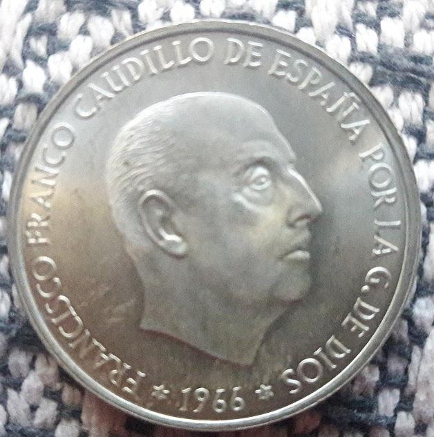 100 Pesetas 1966 (*19-69). Estado Español. Palo curvo Anvers10