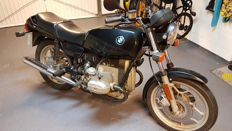 #Gisèle - Transformation R65 LS de 1983 #juju-from-paris 20171112