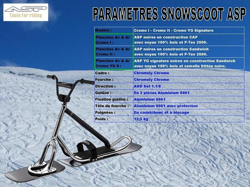 Les Concepteurs Fabricants de SnowScoot Aspc0010
