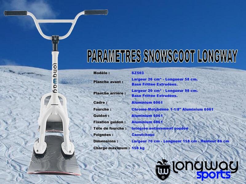 Les Concepteurs Fabricants de SnowScoot Sc00710