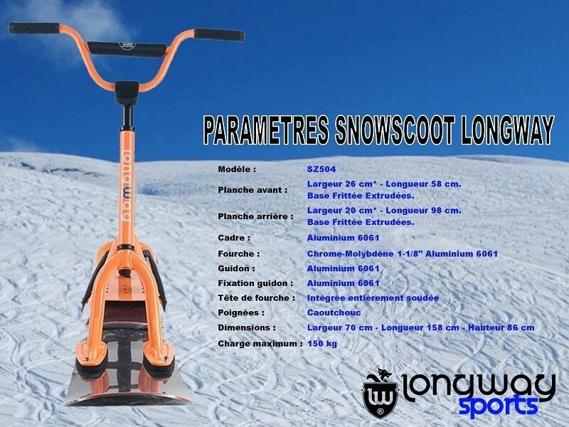 Les Concepteurs Fabricants de SnowScoot Sx00710