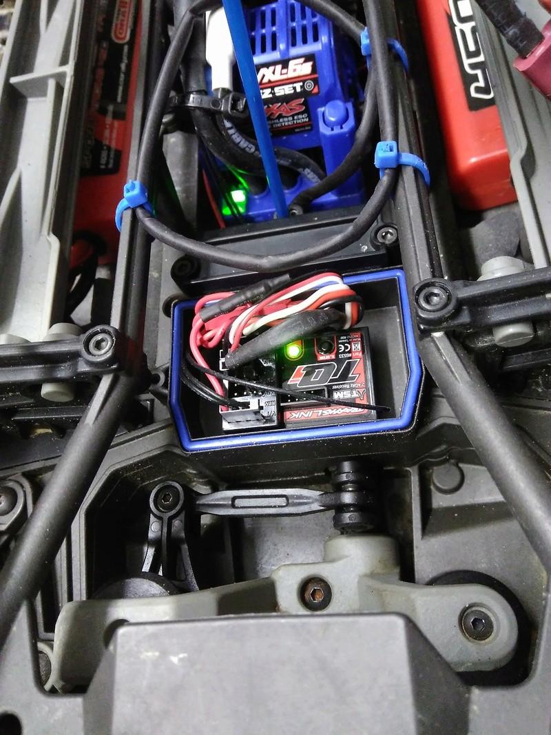 Installation double ventilateur Castle sur le moteur F6d24010