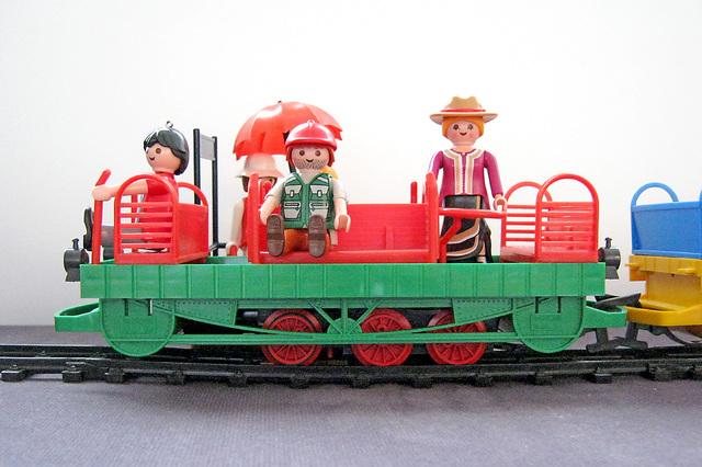 Playmobil / LGB les trains de jardin Faller10
