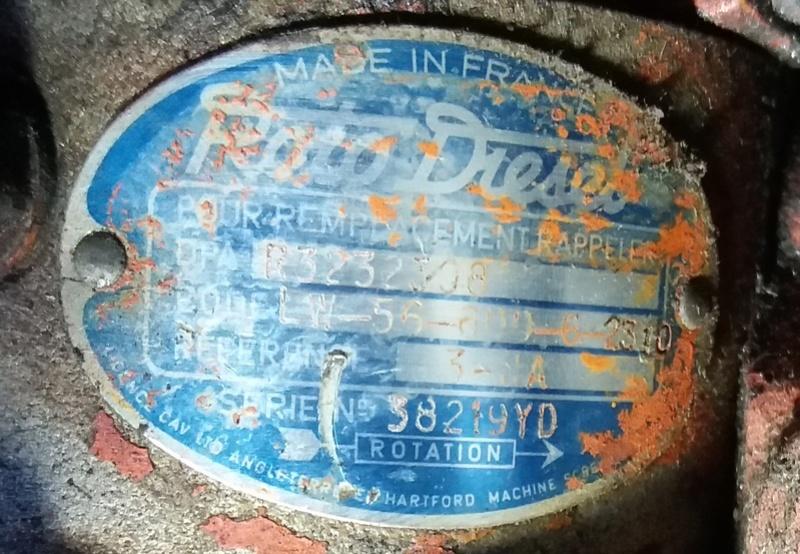 Identification moteur perkins Pompe_11