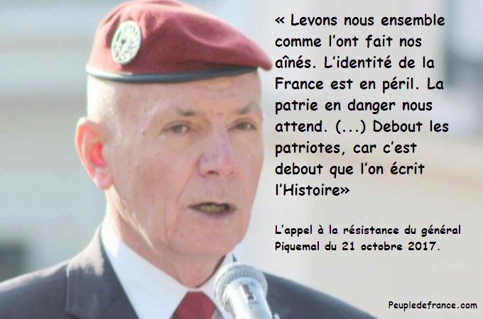 L'appel à la résistance du général Piquemal Genera10