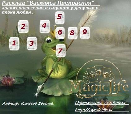 Расклад «Василиса Прекрасная» - анализ положения и ситуации у девушки в плане .  Iaai_e10