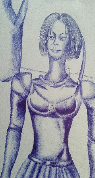 Мои рисунки ручкой и карандашом. - Страница 3 01710