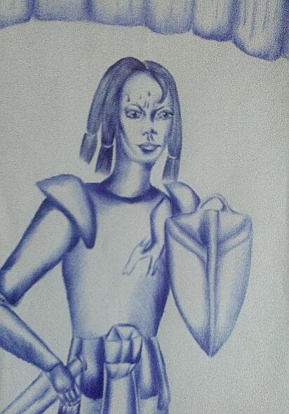 Мои рисунки ручкой и карандашом. - Страница 3 017_210