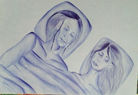Мои рисунки ручкой и карандашом. - Страница 3 02810