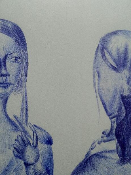 Мои рисунки ручкой и карандашом. - Страница 3 03410