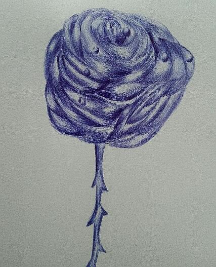 Мои рисунки ручкой и карандашом. - Страница 3 03510