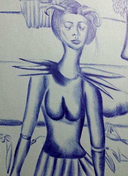 Мои рисунки ручкой и карандашом. - Страница 3 04710